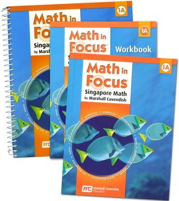 Math in Focus: The Singapore Approach Grade 1A First Semester Kit   -