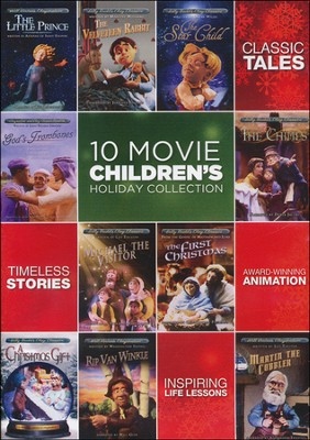 10 Movie Children's Holiday Collection   -