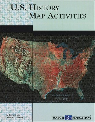 U.S. History Map Activities   -     By: Richard Churchill, Linda Churchill