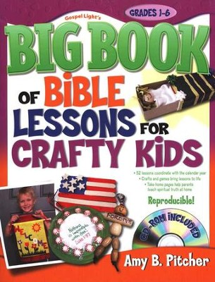 Big Book Of Bible Lessons For Crafty Kids  -