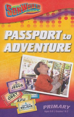 Sonworld Adventre Park Passport to Adventure Student Book, Orimary (Ages 6-8 / Grades 1&2)  -