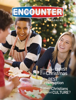 Encounter-The Magazine, pack of 5, Winter 2013  -