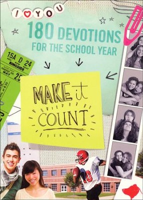 Make It Count: 180 Devotions for the School Year  -     By: Sue Christian