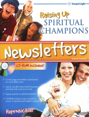 Raising Up Spiritual Champions Newsletters (CD-ROM included)   -     By: Jean Lawson