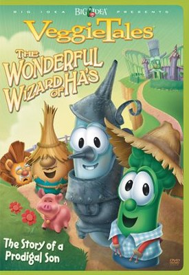 The Wonderful Wizard of Ha's, VeggieTales DVD   -