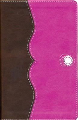 NIV Teen Study Bible Compact, Italian Duo-Tone, Chocolate/Raspberry  -     By: Lawrence O. Richards, Sue W. Richards