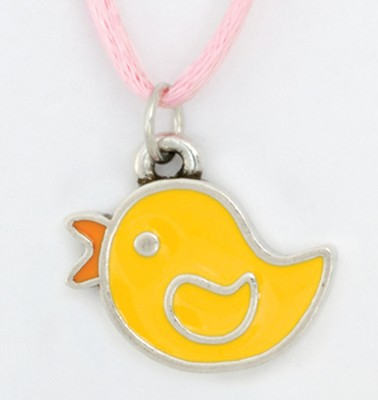 Be Joyful Pendant, Duck  -