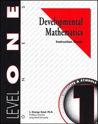 Developmental Math, Level 1, Educator's Guide   -     By: L. George Saad