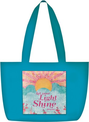 Let Your Light Shine Tote  -