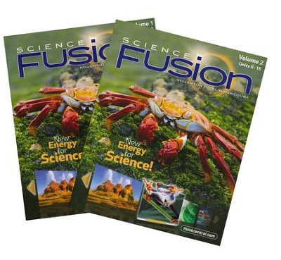 Science Fusion Grade 5 Homeschool Package   -