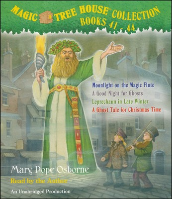 Magic Tree House: Books 41-44 Unabridged Audiobook on CD  -     By: Mary Pope Osborne