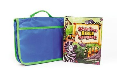 Adventure Bible Storybook with Bible Cover Pack, Limited Edition 2014, Special Edition  -     By: Catherine DeVries