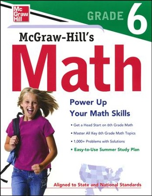 McGraw-Hill's Math Grade 6   -