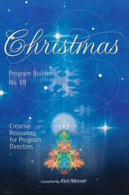 Christmas Program Builder No. 59  -