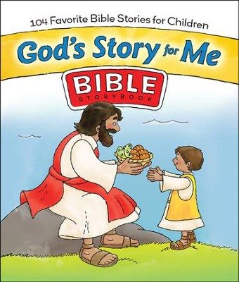 God's Story For Me: 104 Favorite Bible Stories for Children  -