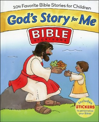 God's Story For Me: 104 Favorite Bible Stories for Children - Slightly Imperfect  -