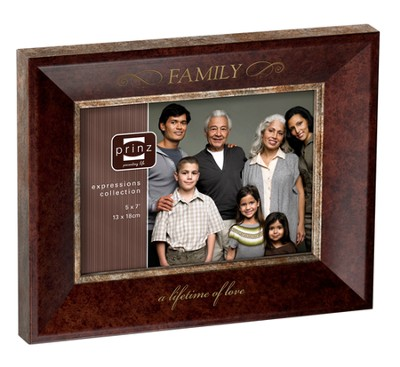Family, A Lifetime of Love Photo Frame  -