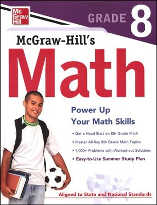 McGraw-Hill's Math Grade 8   -