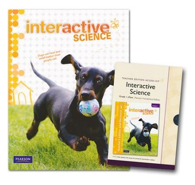 Interactive Science Grade 1 Homeschool Bundle   -