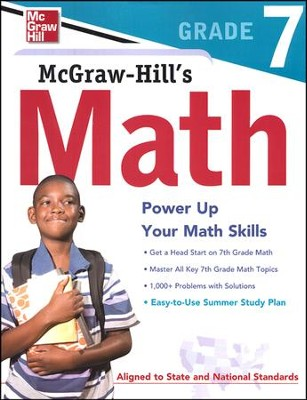 McGraw-Hill's Math Grade 7   -