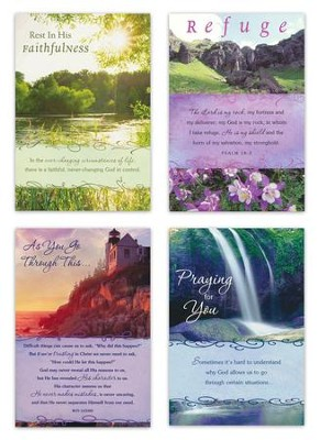 Bold Promises Encouragement Cards, Boxed 12  -