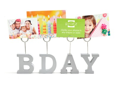 BDAY Photo Clip Set  -