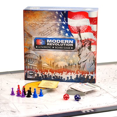 Modern Revolution-A Patriotic Board Game   -