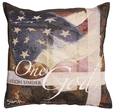 One Nation Under God Pillow  -