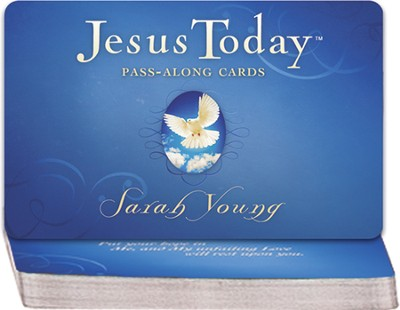Jesus Today Pass Along Cards  -     By: Sarah Young