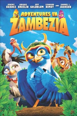 Adventures In Zambezia, DVD   -