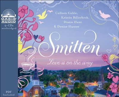 Smitten Unabridged Audiobook on CD  -     By: Colleen Coble, Kristin Billerbeck, Denise Hunter