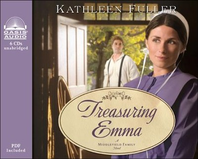 Treasuring Emma Unabridged Audiobook on CD  -     By: Kathleen Fuller