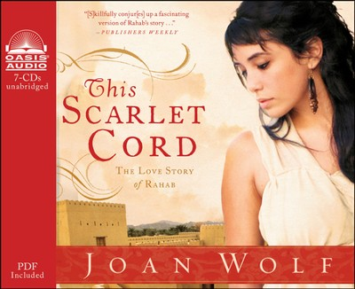 This Scarlet Cord: The Love Story of Rahab Unabridged Audiobook on CD  -     By: Joan Wolf
