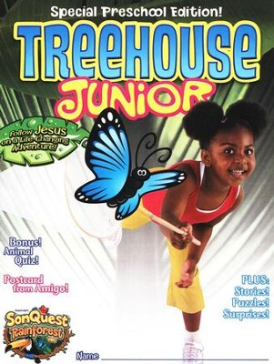 Treehouse Junior Student Magazine, Preschool , Ages 3 to 4  -