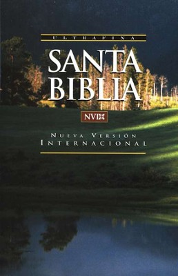 Biblia Ultrafina NVI, Enc. R&#250stica  (NVI Ultrathin Bible, Softcover)  -