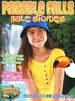 Parable Falls Bible Stories, Grades 3 and 4, Ages 8 to 10  -