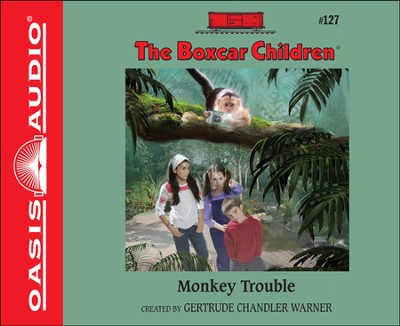 Monkey Trouble Unabridged Audiobook on CD  -     By: Gertrude Chandler Warner