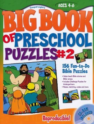Big Book of Preschool Puzzles #2  -