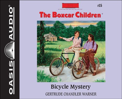Bicycle Mystery Unabridged Audiobook on CD  -     Narrated By: Aimee Lilly     By: Gertrude Chandler Warner     Illustrated By: David Cunningham