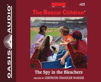 The Spy in the Bleachers - unabridged audiobook on CD  -     By: Gertrude Chandler Warner     Illustrated By: Robert Papp