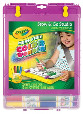Color Wonder Stow and Go Art Set  -