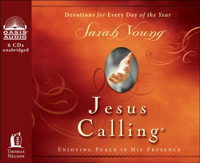Jesus Calling: Enjoying Peace in His Presence Unabridged Audiobook on CD  -     By: Sarah Young