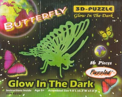 Butterfly Glow-in-the-Dark Puzzle  -