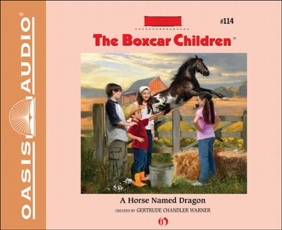 A Horse Named Dragon Unabridged Audiobook on CD  -     By: Gertrude Chandler Warner