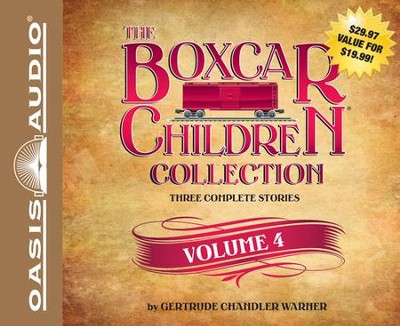 #4: Schoolhouse Mystery, Caboose Mystery, Houseboat Mystery Unabridged Audiobook on CD  -     Narrated By: Tim Gregory     By: Gertrude Chandler Warner