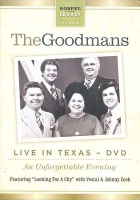 The Happy Goodman Family Live in Texas DVD  -