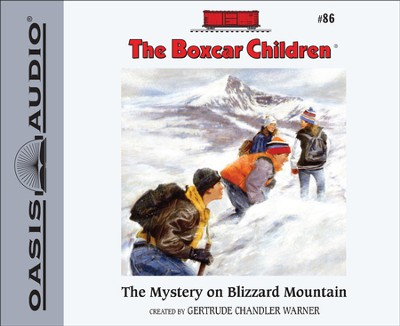 #86: The Mystery on Blizzard Mountain Unabridged Audiobook on CD  -     Narrated By: Aimee Lilly     By: Gertrude Chandler Warner