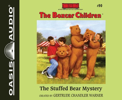#90: The Stuffed Bear Mystery Unabridged Audiobook on CD  -     Narrated By: Aimee Lilly     By: Gertrude Chandler Warner