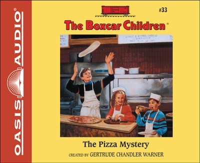 #33: The Pizza Mystery Unabridged Audiobook on CD  -     By: Gertrude Chandler Warner