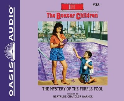 #38: The Mystery of the Purple Pool Unabridged Audiobook on CD  -     By: Gertrude Chandler Warner